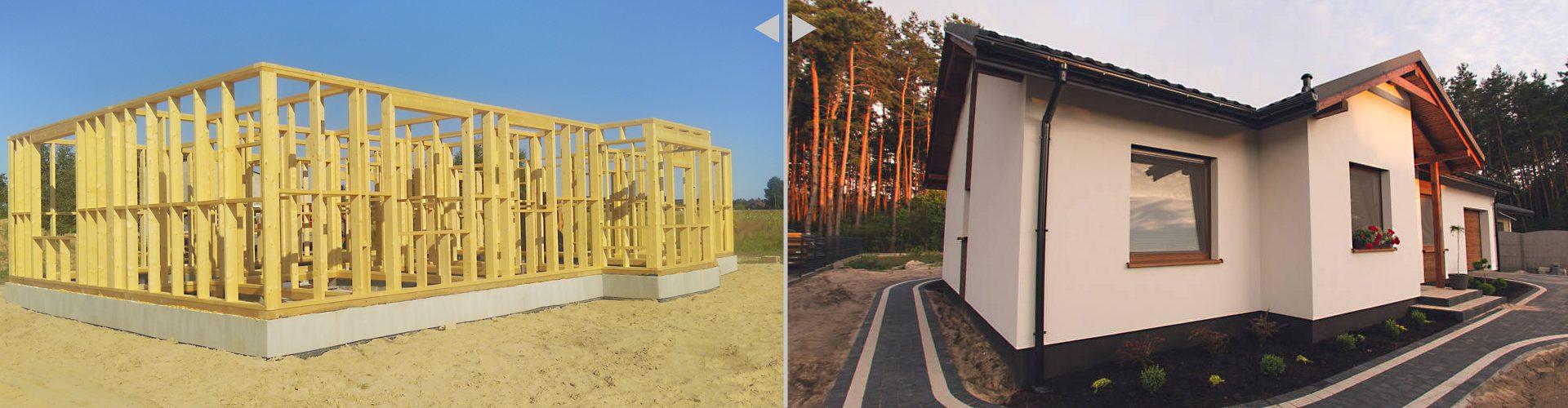Domy szkieletowe, domy z drewna, kanadyjskie, producent, Eko-Invest